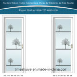 1.0mm~2.0mm Thickness Inner Aluminum Casement Door with Different Patterns