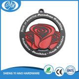 Medalla suave del esmalte del medallista de plata antiguo hueco de encargo