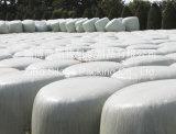 100% película del abrigo del ensilaje del polietileno de la Virgen, película de estiramiento blanca para el embalaje de la granja