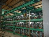 다중층 고무 격판덮개 가황기/수압기 기계