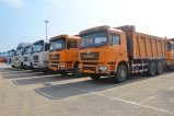 De Chinese Vrachtwagen van de Kipper van Shacman van de Leverancier 6X4 Op zwaar werk berekende