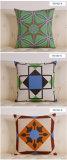면 추상적인 기하학적인 색깔 소파 형식 의자 다방 방석 베개