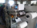 Máquina de revestimento adesiva do derretimento quente de uma superfície plana