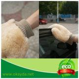 Alto guanto mezzo del lavaggio di automobile della pelle di pecora di Qualtity