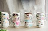 Tazze di ceramica promozionali con stampa della scatola per i regali