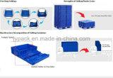 Caixa plástica Foldable do transporte para o setor automóvel