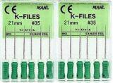 Dental Root Canal Files K Files H Files Reamer