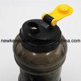 広い口のふた2.2L PETGの体操の水差しかプラスチックBPAはハンドルが付いている水差しを放す