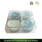 Allumeur en verre de fournisseur de cuvette de bougie de Tealight en Chine