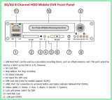 Sistemas de 4/8 de câmara de segurança do CCTV da canaleta para a gerência do barramento e da frota