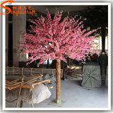 Arbres 2015 en soie faux en plastique artificiels directs de fleur de cerise d'usine