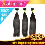 Estensione diritta serica brasiliana 2016 dei capelli umani del Virgin del tessuto 100% dei capelli Lbh 079
