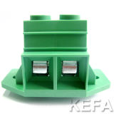 PCB Screw Terminal Block VDE Approved с Side Lock для Анти--Vibration