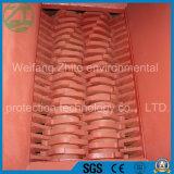Прочный двойной шредер валов для неныжный рециркулировать автошины/резина/кухня/муниципальный отход/пена/животные косточка/пластмасса