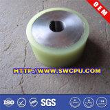 Roda lisa fazendo à máquina do rolamento plástico (SWCPU-P-W076)
