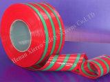 溶接の赤いPVCストリップのカーテン