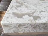 Partie supérieure du comptoir blanches de quartz de surface de quartz de Calaccata