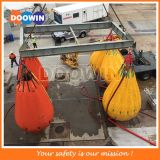 Sacos enchidos água do peso do teste de carga do guindaste & do turco