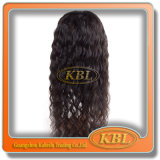 High Quality를 가진 100% 인도 사람 Virgin Hair Full Lace Wigs