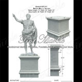 Statua di pietra di marmo Ms-913 di Metrix Carrara Caesar della statua del granito