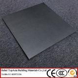 黒いマット表面の完全なボディ磁器の床タイルの装飾のプロジェクト