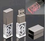 高品質のPromotion Gift Crystal USB Memory Stick、3D Logo USB Stick