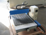 Da linha central de madeira do router 4 do CNC CNC giratório que cinzela a máquina