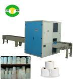 Linha de produção pequena de alta velocidade automática cheia do rolo do papel higiénico