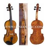 Violon à haute teneur Vla-1 (érable de flamme de 4/4)/violon