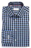 Il nuovo Registrabile-Tasto moderno della camicia di vestito dal plaid 2016 Cuffs le camice
