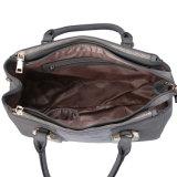 handbag (MBNO042014) 주름을 잡은 정면 회색 형식 숙녀