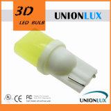 Più nuove lampadine dell'indicatore luminoso T10 3D LED W5w della targa di immatricolazione dell'indicatore di senso del lato dell'automobile degli indicatori luminosi bianchi