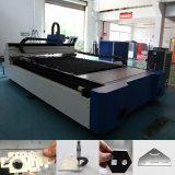 machine de découpage de laser de fibre de tube d'acier du carbone de l'acier inoxydable 500W-3000W