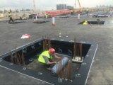 Мембрана Self-Adhesive битума водоустойчивая/Собственн-Придерживаемая крыша битума водоустойчивая чувствуемая, что/асфальт настилить крышу войлок