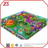 Спортивная площадка торговый оборудования игры детей парка атракционов обеспечения Approved мягкого крытая для сбывания