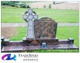 De populaire DwarsStijl Opgepoetste Grafsteen van de Begraafplaats van het Graniet