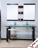 Vanité en verre de salle de bains (VS-G141)