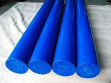 Nylon Staaf, PA6 Staven met Witte, Blauwe Kleur