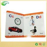 주문을 받아서 만들어진 3D 아동 도서 Printng 의 마분지 이야기 책, 영어 (CKT-BK-004)를 가진 교육 만화 책