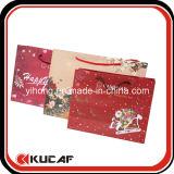 Изготовленный на заказ мешок подарка покупкы бумаги высокого качества печати