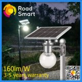 8W luz de calle solar al aire libre del sensor de movimiento del jardín LED