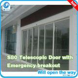 Tsa 6 portas deslizantes telescópicas das asas móveis