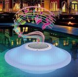 LED 빛을%s 가진 LED Bluetooth 스피커를 뜨는 수영풀