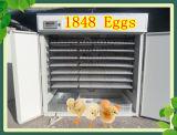 Uovo automatico dell'incubatrice dell'uovo del pollo delle 1848 uova che cova macchina
