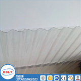 Лист поликарбоната ясного предохранения от крыши Buiding материального UV Corrugated