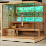 Neue oberste erfreuliche erstklassige trockene Haus-Sauna-Kabine der Sauna-2016