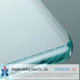 Vidro temperado desobstruído para o vidro do edifício com certificação
