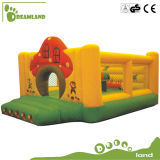 Handels-Soem-Spielplatz-Geräten-aufblasbares federnd Schloss mit Wasser-Plättchen