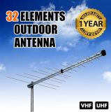 De logboek-periodieke Antenne van TV van 32 Element VHF/UHF