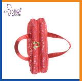 Сумка картины шнурка сетки красная с штендером Loreal/Sedex 4